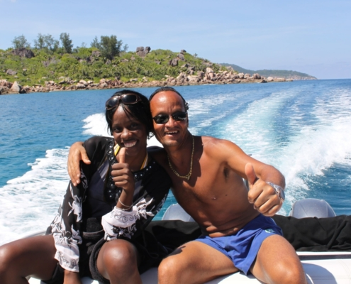 Francois con Sheena