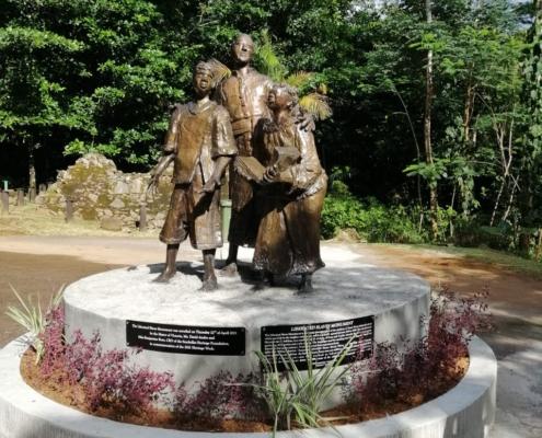 Monument över befriade slavar
