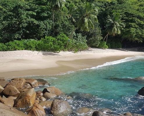 Anse Major-stranden