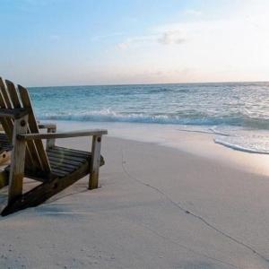 Strandtur på Seychellerne