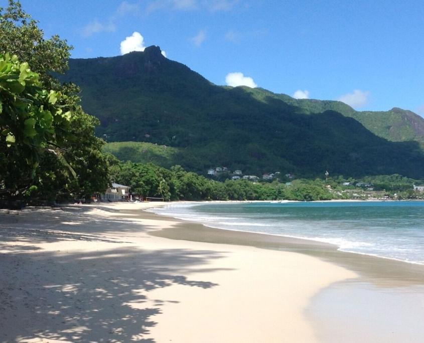 Beau Vallon strand