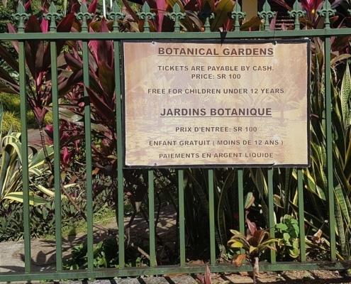 Jardin botanique des Seychelles
