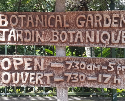 Botanische Gärten Seychellen