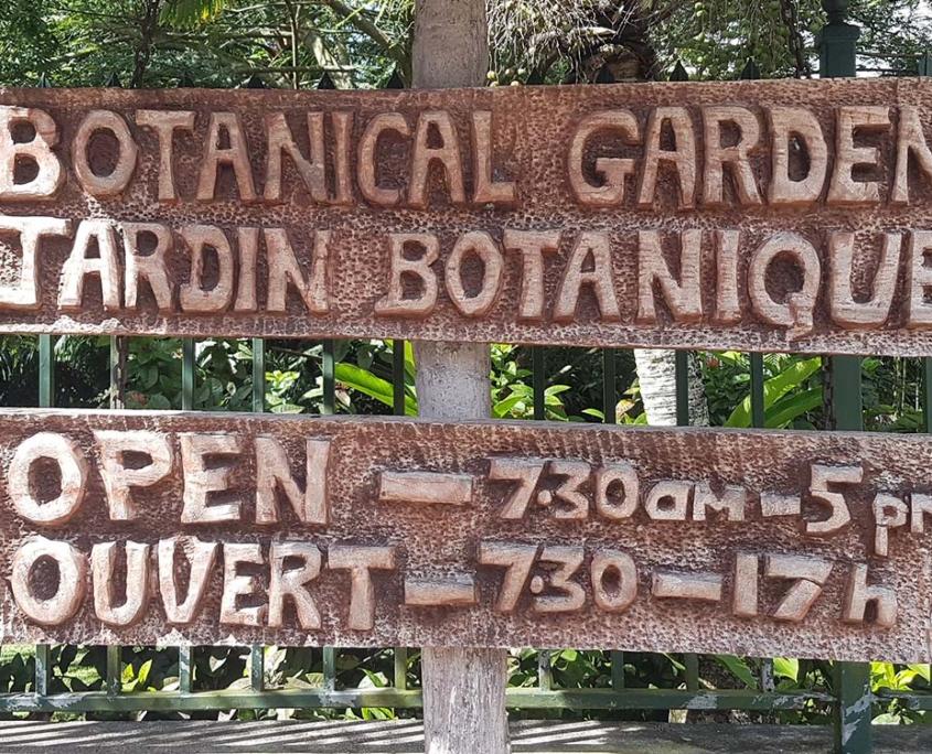Botanical Gardens Seychelles