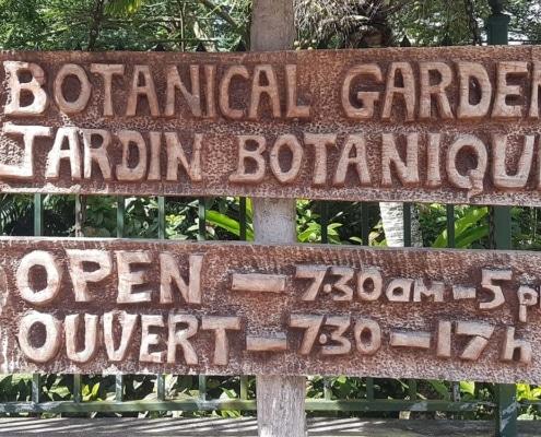 Jardins botaniques des Seychelles