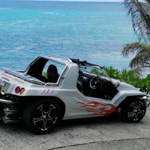 Beach Buggy Tour na wycieczkę po wyspach na Seszelach