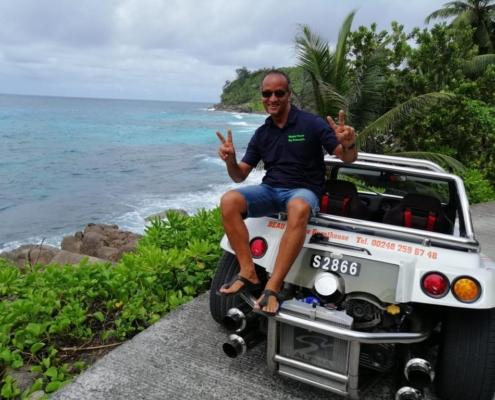 Beach Buggy Island Tour Seychellerna