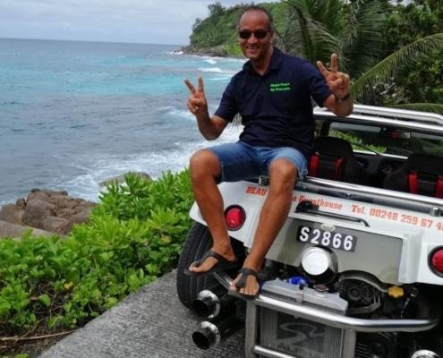 Excursión en buggy por las islas Seychelles