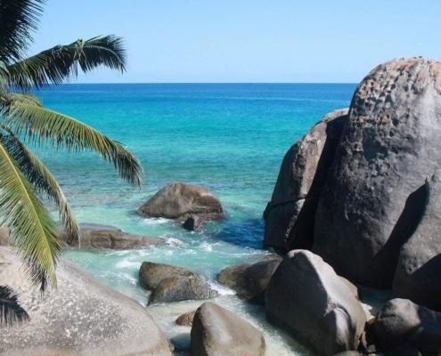 Spiaggia di Carana Mahe