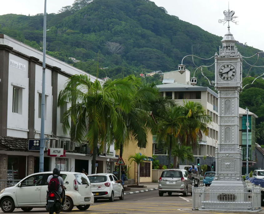 Clocktower City Tour Seychelles