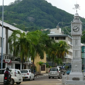Tur i klocktornet Victoria Seychellerna