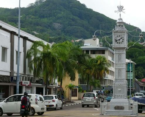 Visite guidée de l'horloge aux Seychelles