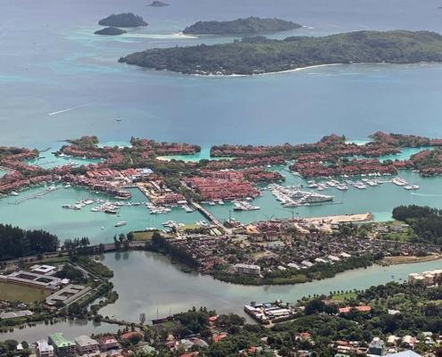 Eden Island Seychellerna