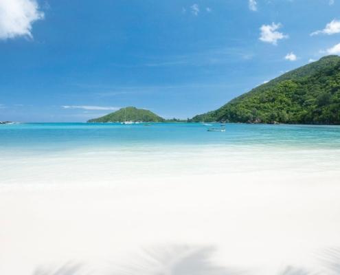 Spiaggia dell'hotel Ephelia, Port Launay, Seychelles