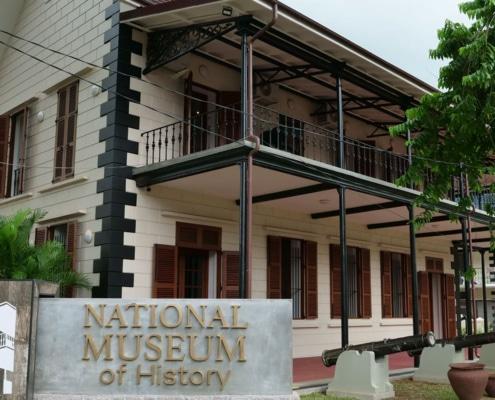 Nationalmuseet for historie, Seychellerne