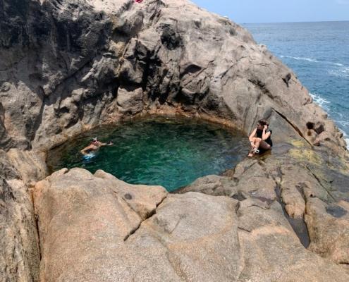 Pool Rock, Seychelles