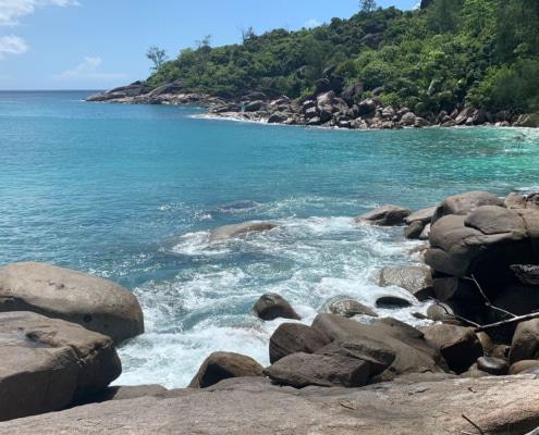 Anse Major på Mahe. Seychellerne