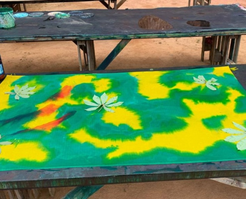 Sun print Roots Seychelle-szigetek