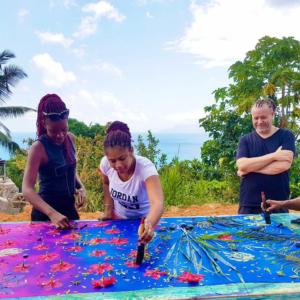 Soul Flower Tour sunprint with Island TourSeychelles
