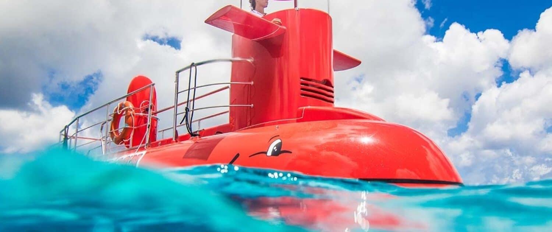 Submarine Seychelles